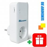 GSM Розетка Телеметрика T4 с датчиком температуры + подарок