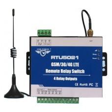 RTU5021 GSM/GPRS(WEB-CLOUD) контроллер 4 канала