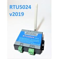 RTU5024 v2019 GSM реле (1000 номеров, USB, акк-р, сигн-я)