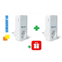 GSM Розетка Телеметрика T40 (1шт) + T20 (1шт) + подарок