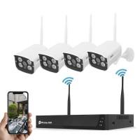 Комплект видеонаблюдения JideTech JD4NK103-2MPW (WiFi, 4CH, 2MP, 1920х1080)