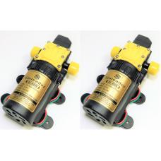 2 шт Насос помпа высокого давления SL-4500-5l/m-R-12V всасывающий