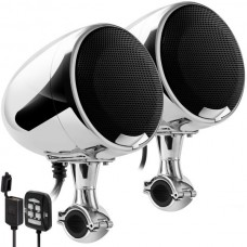 Аудиосистема для мотоцикла GoHawk AN4-X v2021 (SPK400D-U) D-class/USB(MP3)/Bluetooth/AUX