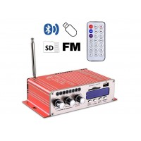 HY502S-SE  Усилитель Hi-Fi с Bluetooth, MP3, SD, USB, FM, пульт ДУ