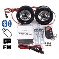 HY-700 Аудиосистема усилитель для мотоцикла, скутера, катера c FM/Bluetooth/USB