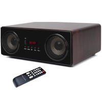 Активная акустическая система с сабвуфером HYPER SOUND IA-210 (80W,BT,FM,MP3,FLAC,OPT,Coax,AUX,MIC,ДУ)