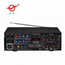 YT-G12 Hi-Fi Стерео усилитель 200Вт,Караоке,Bluetooth,USB,SD,FM