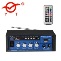 YT-05  Усилитель Hi-Fi с Bluetooth, MP3, SD, USB, FM, MIC, AUX пульт ДУ