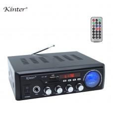 Kinter M1 Усилитель Hi-Fi с Bluetooth, MP3, FLAC, SD, USB, FM, MIC, AUX пульт ДУ