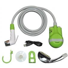 Душ аккумуляторный дачный автомобильный походный Эскейп-АК (Green)